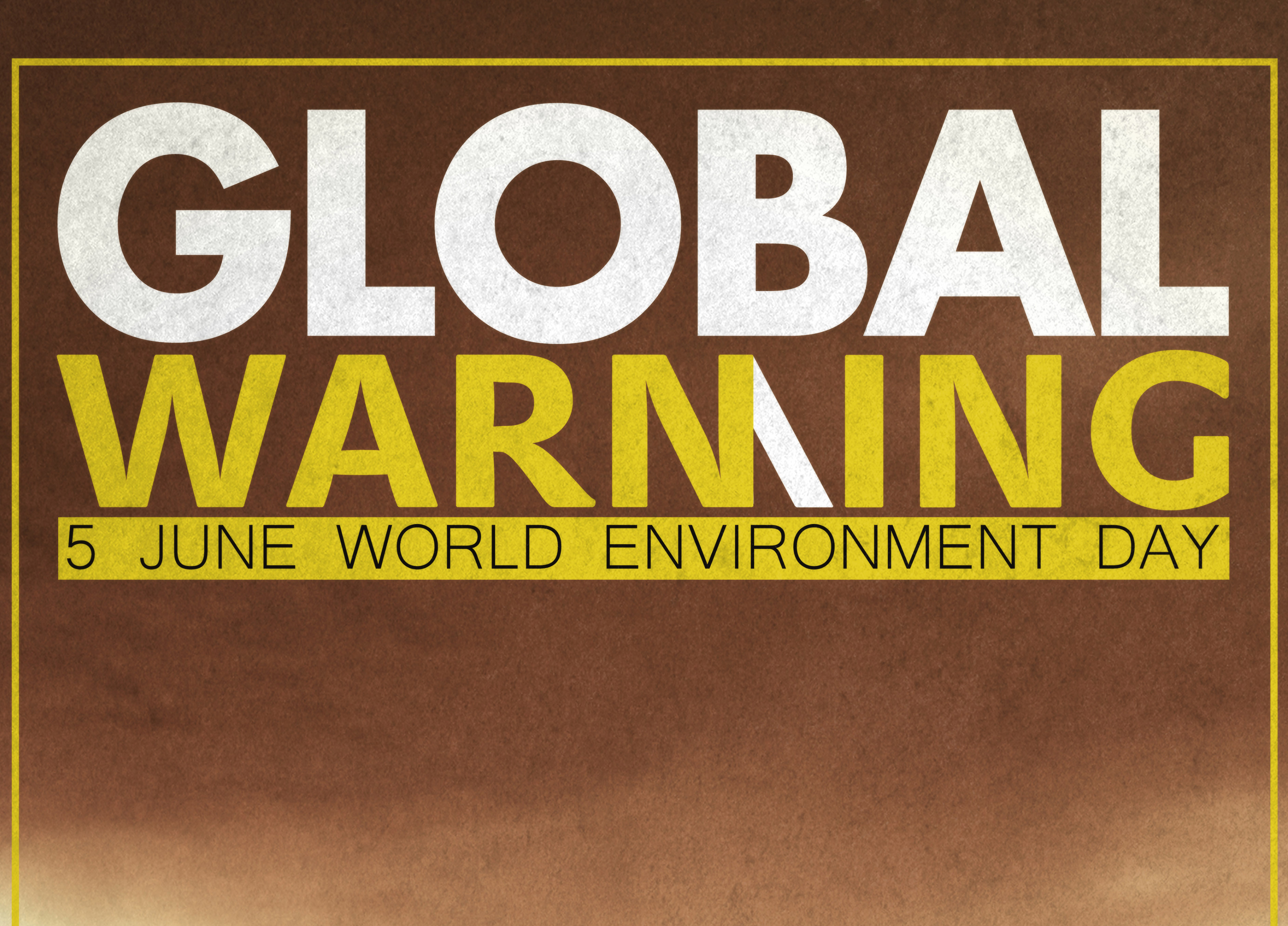 Poster – Global Warming Day
